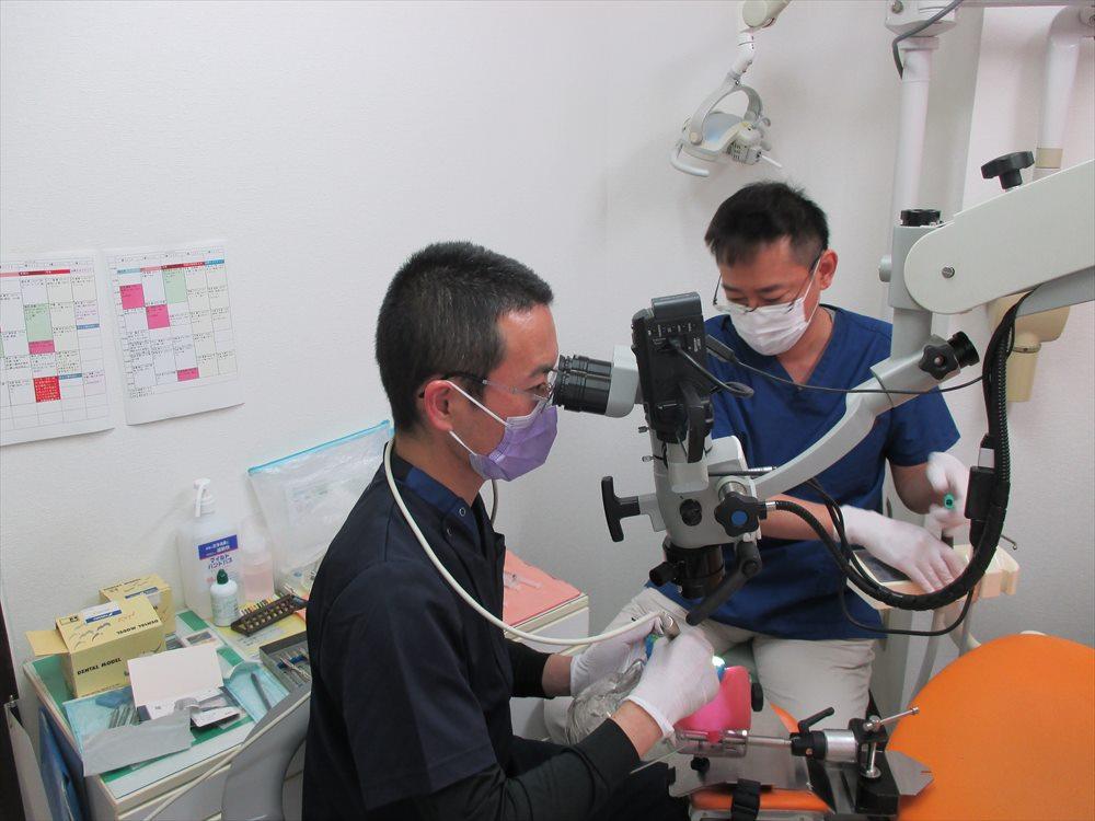 できるだけ歯を残すために学んだ顕微鏡歯科治療②