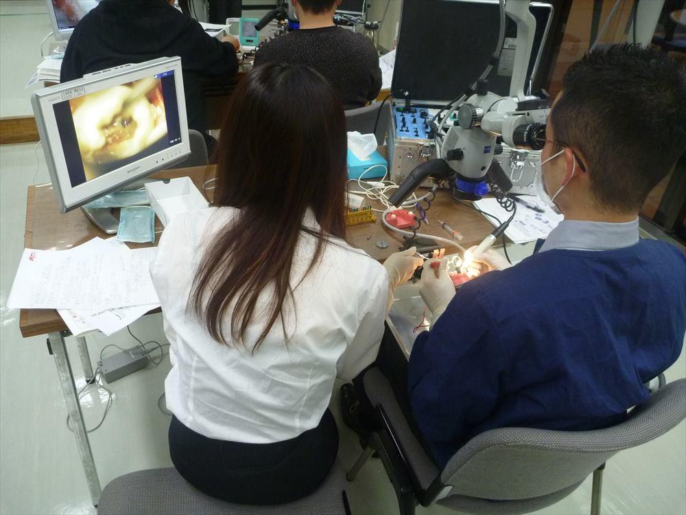 できるだけ歯を残すために学んだ顕微鏡歯科治療
