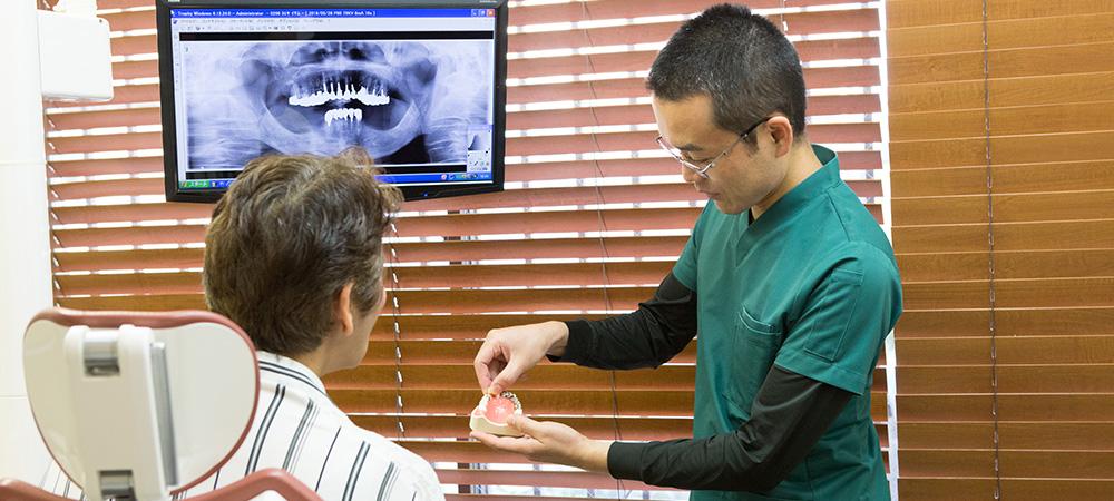 抜歯回避にこだわった歯科医院